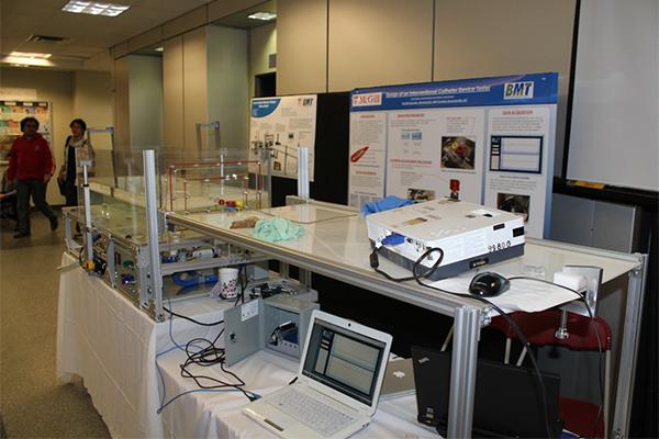Catheter Advancement Bath Simulator Colin R Gallacher